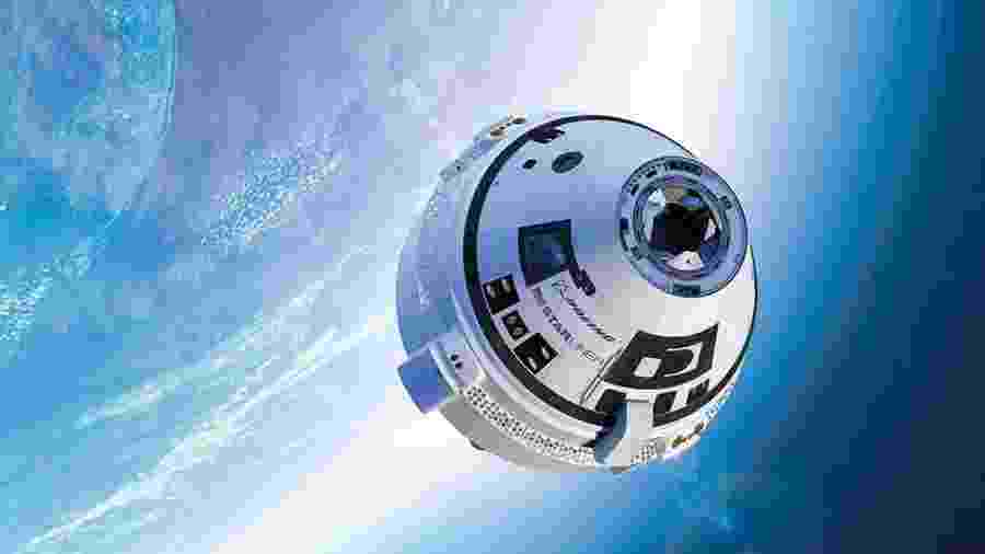 Starliner da Boeing não chegou à Estação Espacial Internacional após um erro nos cálculos - Divulgação/Boeing