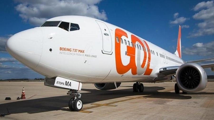 Boeing 737 Max da Gol - Foto: Reprodução