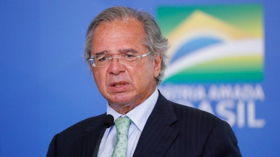 """Guedes: Por """"infelicidade"""", Bolsonaro não deixou claro problema da saúde -                                 ALAN SANTOS/PR"""