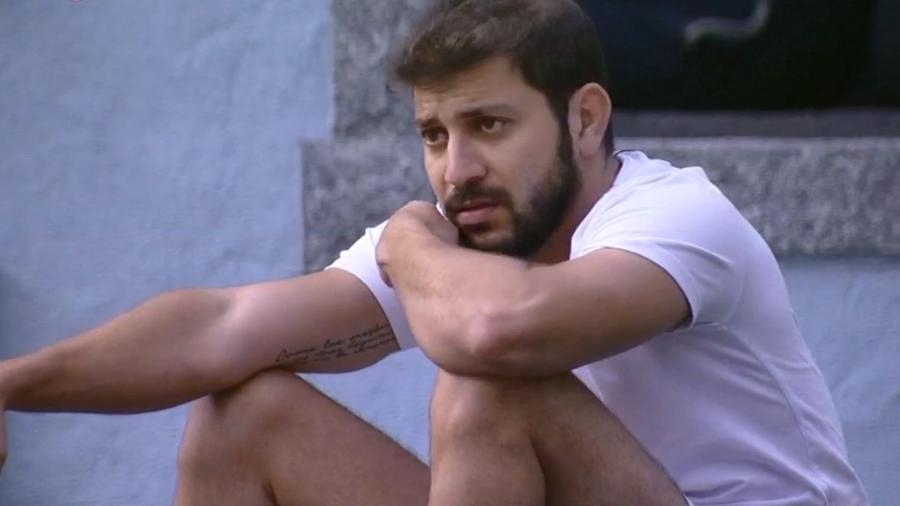 BBB 21: Caio é o preferido do público para deixar o reality show - Reprodução/Globoplay