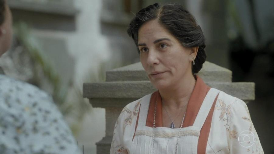 Lola (Gloria Pires) em Éramos Seis (Reprodução) - Lola (Gloria Pires) em Éramos Seis (Reprodução)