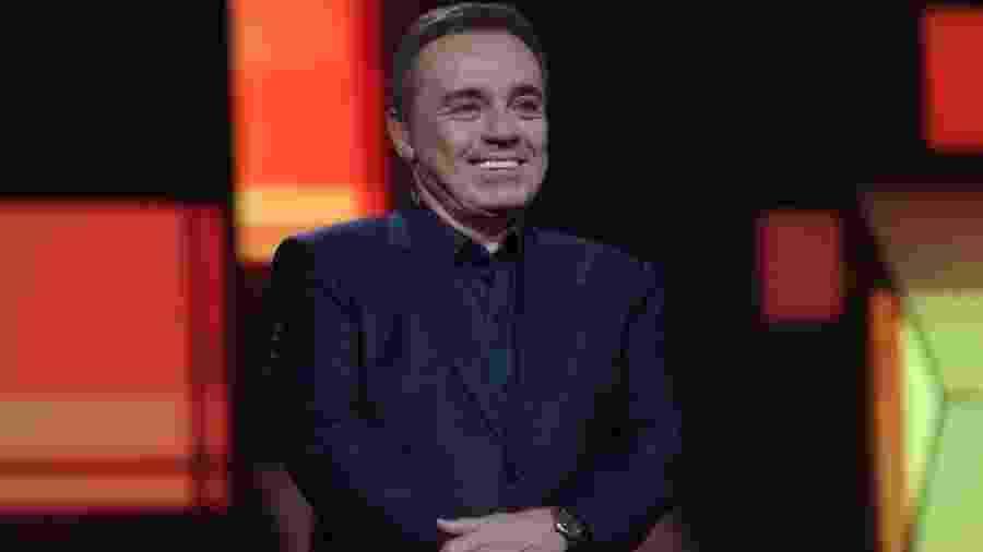 Gugu Liberato, que morreu aos 60 anos em novembro, nos EUA - Divulgação/Record TV
