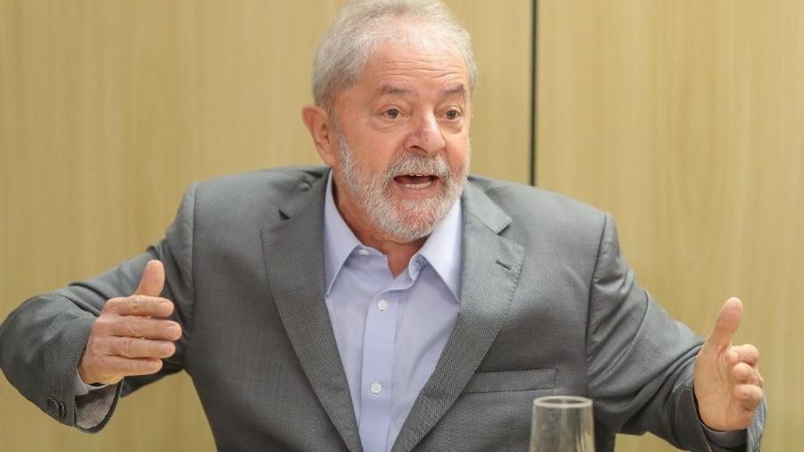 Ex-presidente Luiz Inácio Lula da Silva                              - RICARDO STUCKERT/INSTITUTO LULA