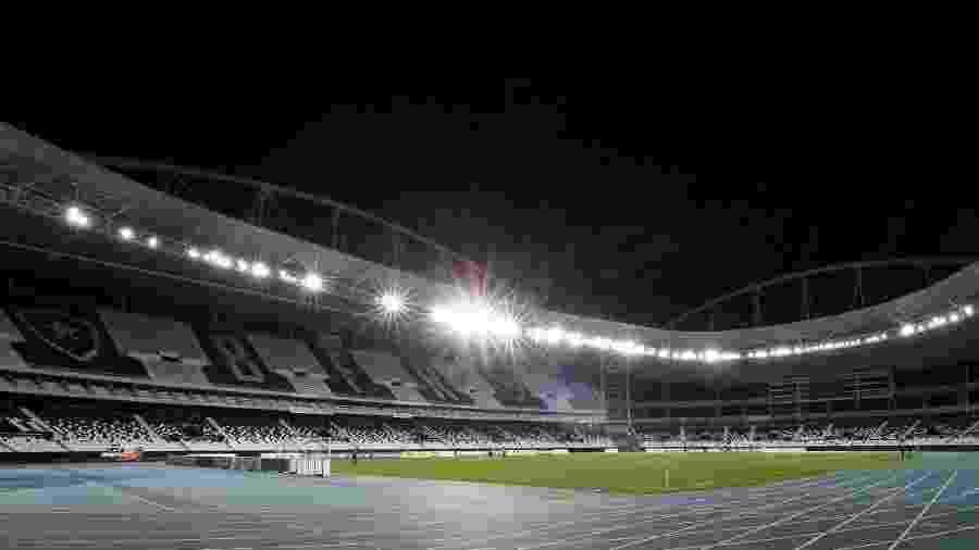 O Engenhão receberá a primeira partida pela final do Campeonato Carioca 2019 - Vitor Silva/SSPress/Botafogo