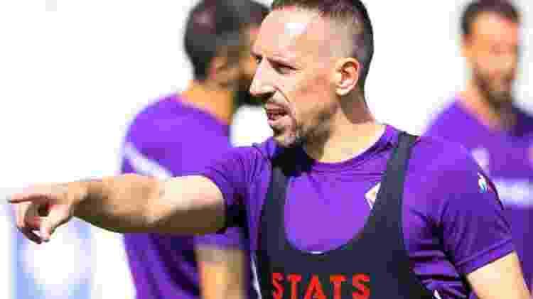 Ribéry - AFC Fiorentina/Instagram                             - AFC Fiorentina/Instagram