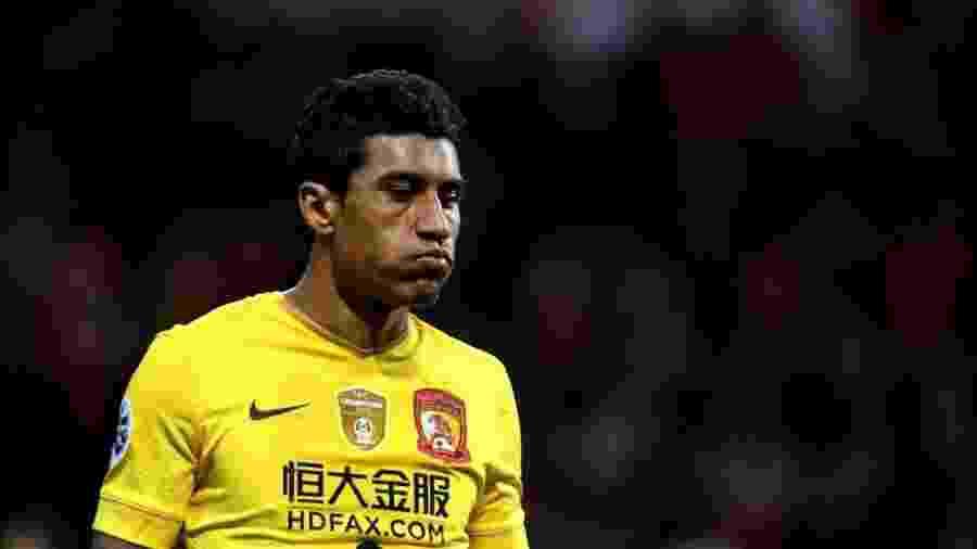 Paulinho, do Guangzhou Evergrande, é um dos destaques do Campeonato Chinês - AFP