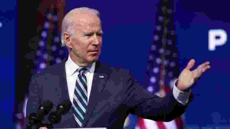Biden pede que Congresso dos EUA aja para enfrentamento de crise de empregos -                                 JOE RAEDLE / GETTY IMAGES NORTH AMERICA / GETTY IMAGES VIA AFP