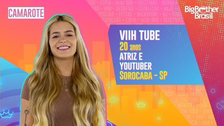 """Viih Tube está confinada no """"BBB 21""""  - Divulgação"""