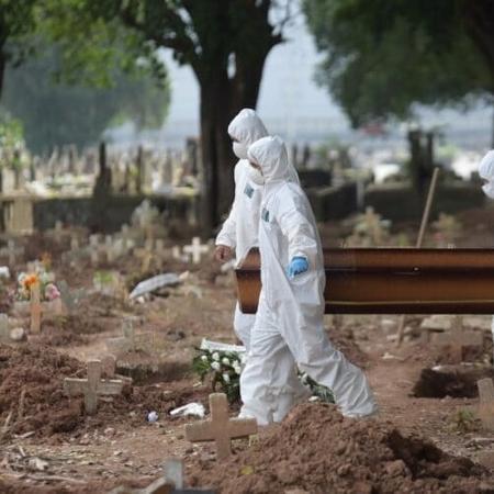 Brasil registra recordes diários de novos casos e mortes por covid-19 - Reprodução
