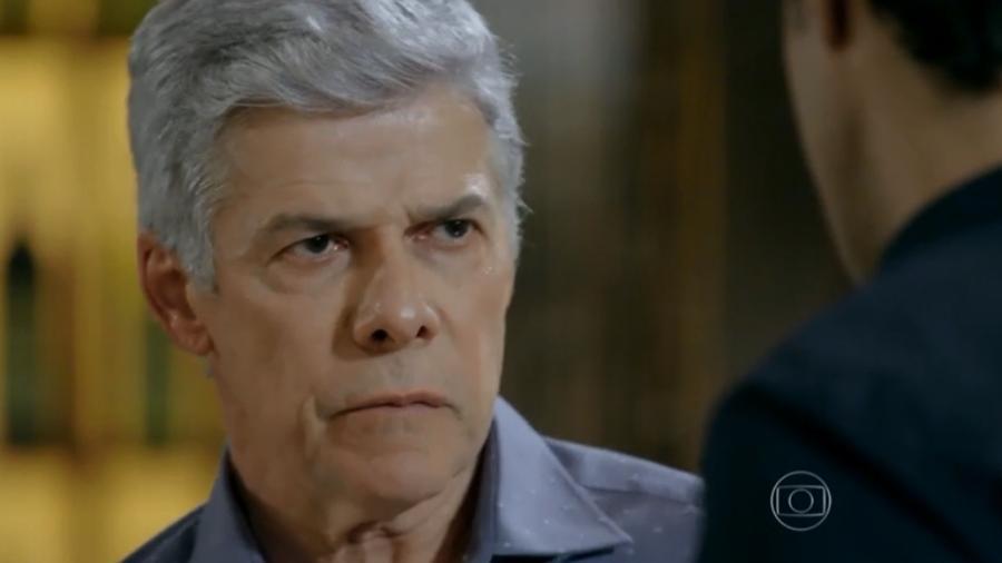 José Mayer interpreta Cláudio em Império (Reprodução: Globo) - Reprodução / Internet