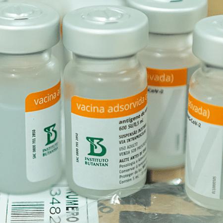 Vacinas da Coronavac (Foto: Reprodução) - Reprodução / Internet