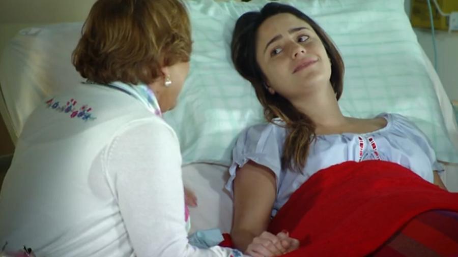 Nicette Bruno (Iná) e Ana (Fernanda Vasconcellos) em A Vida da Gente (Foto: Reprodução/Globo) - Reprodução / Internet