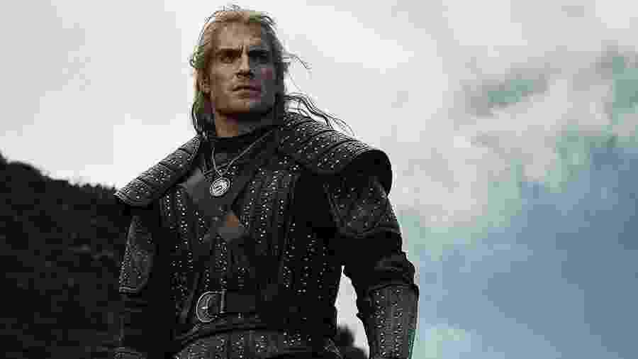 Henry Cavill em The Witcher - Reprodução