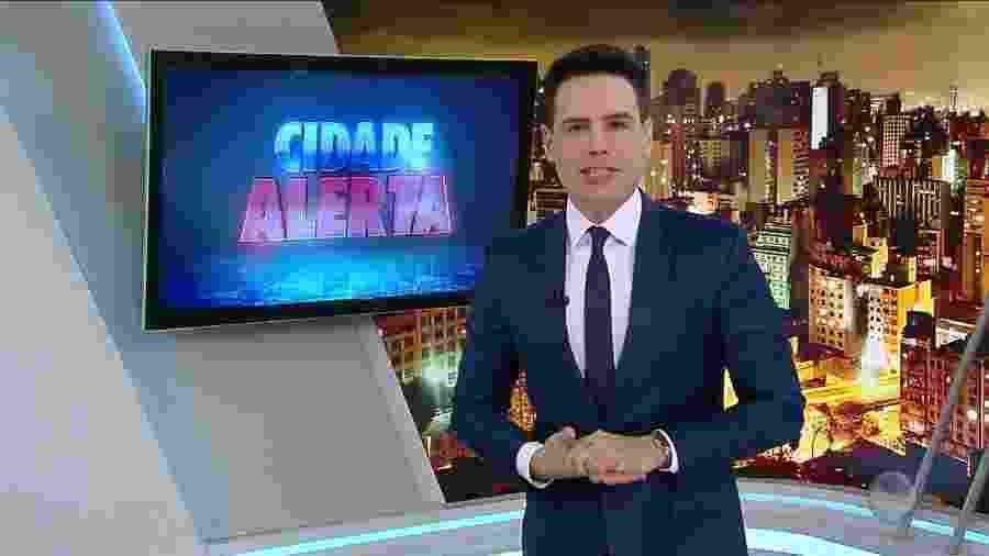 """""""Cidade Alerta"""", com Luiz Bacci, está entre os programas que ganharão novos cenários - Edu Moraes/ RecordTV"""
