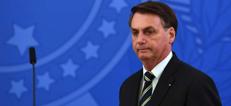 Jair Bolsonaro, presidente do Brasil                              - EVARISTO SA/AFP