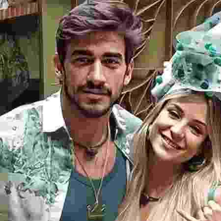 """Interação entre o ex-casal animou os fãs de """"Guibi"""" - Guilherme Napolitano e Gabi Martins (Foto: Divulgação/Globo)"""