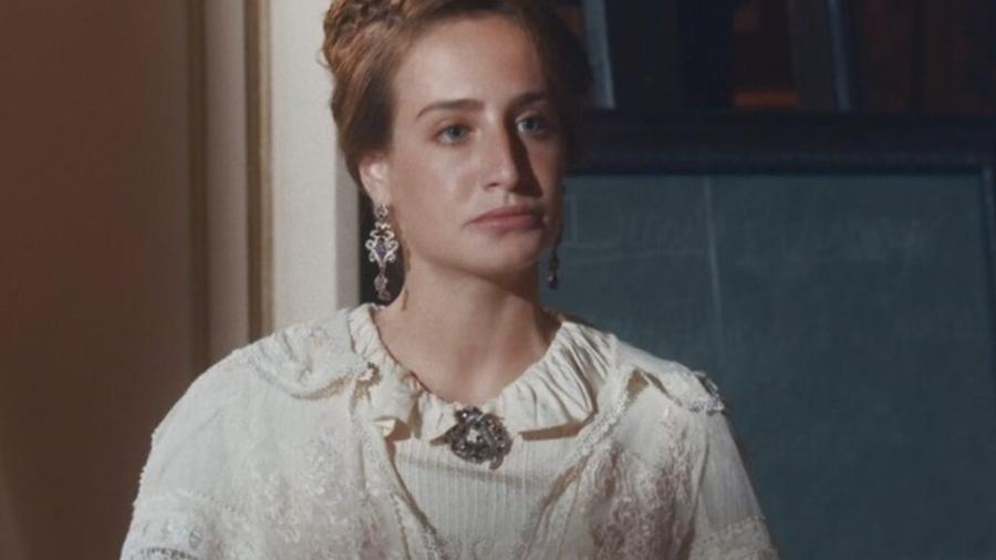 Leopoldina (Bruna Griphao), de Nos Tempos do Imperador (reprodução/TV Globo) - Reprodução / Internet