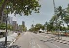 Acidente entre carro e moto deixa pessoa ferida na Avenida Boa Viagem - Foto: Google Street View/Reprodução