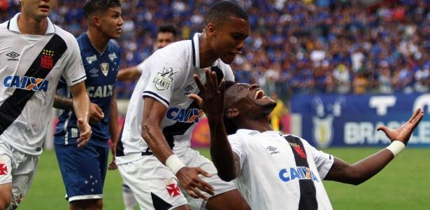 Paulão fez o gol da vitória do Vasco sobre o Cruzeiro na última rodada