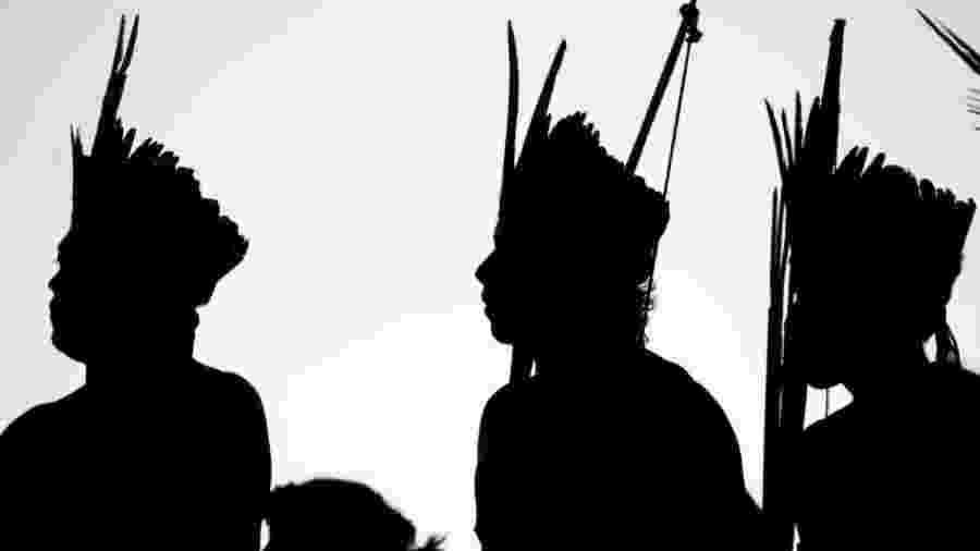 Populações indígenas tentam se proteger contra a covid-10                              -                                 AGÊNCIA BRASIL