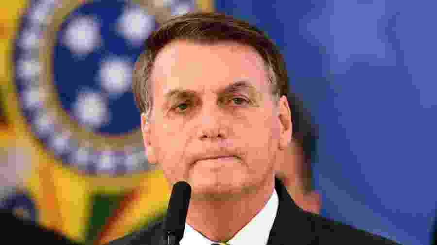 Presidente da República, Jair Bolsonaro (sem partido)                              -  EVARISTO SA/AFP