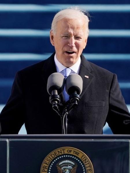 Biden amplia pressão por aval a pacote e diz ter apoio de governador republicano - Reprodução / Internet