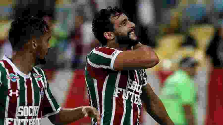 Henrique Dourado tem feito sucesso entre as crianças tricolores e vai ser alvo do marketing - Nelson Perez/Fluminense FC