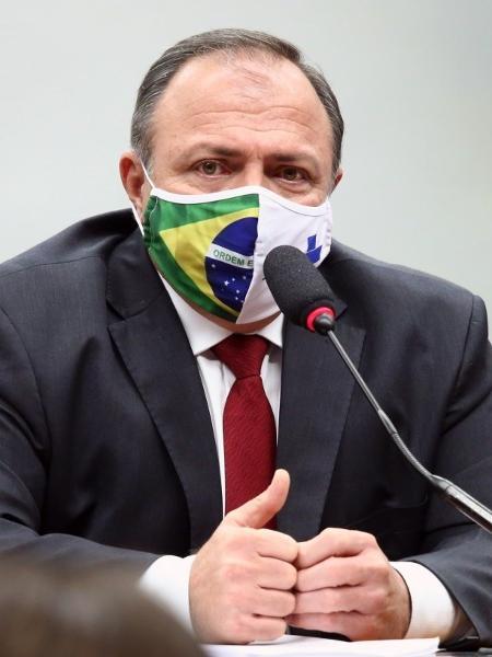 O futuro ex-ministro da Saúde, Eduardo Pazuello -                                 NAJARA ARAUJO/CÂMARA DOS DEPUTADOS