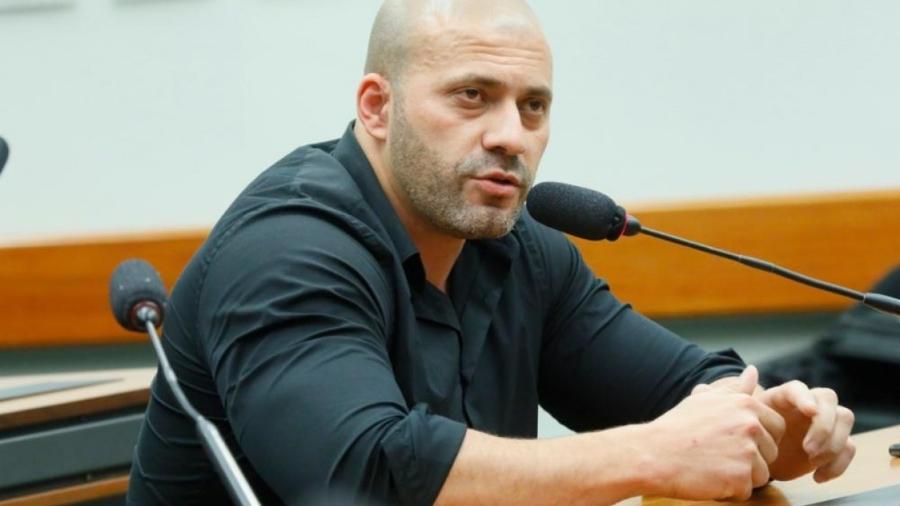 Daniel Silveira foi preso em flagrante pela Polícia Federal na noite dessa terça (16), depois de divulgar um vídeo com discurso de ódio contra os membros do STF - Maryanna Oliveira/Câmara dos Deputados