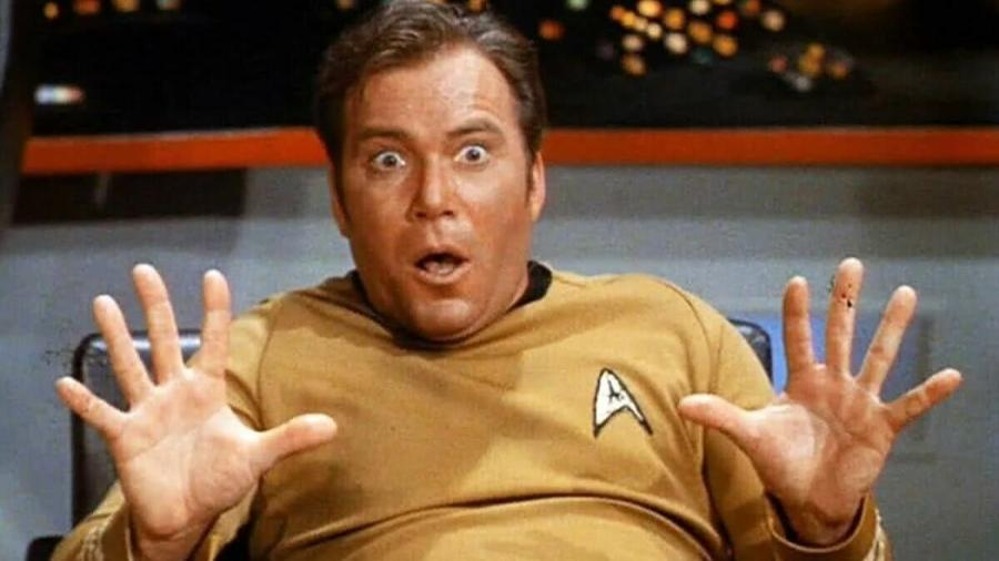 William Shatner, o Capitão Kirk de Star Trek - Reprodução/ Internet
