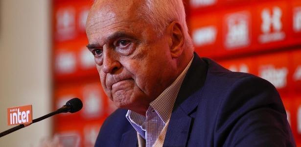 Leco está no segundo mandato como presidente do São Paulo