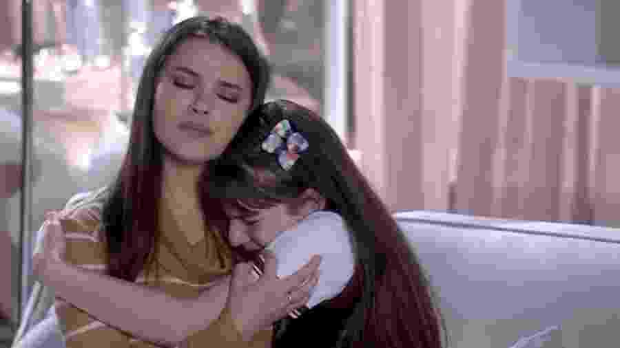 Thaís Melchior e Sophia Valverde em cena de As Aventuras de Poliana (Reprodução / YouTube) - Thaís Melchior e Sophia Valverde em cena de As Aventuras de Poliana (Reprodução / YouTube)