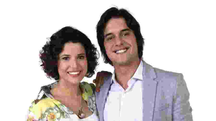 Manuela do Monte e Guilherme Boury como Carol e Júnior em Chiquititas (Lourival Ribeiro / SBT) - Reprodução / Internet