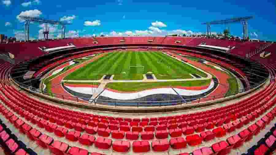 Estádio Morumbi, do São Paulo - Reprodução / Internet