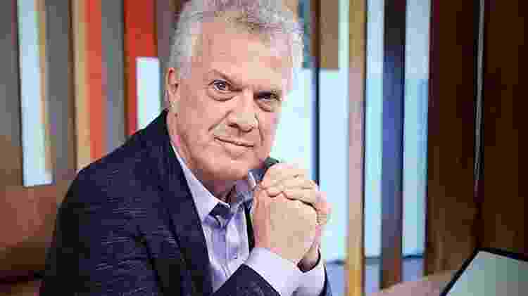 """O jornalista Pedro Bial, apresentador do """"Conversa com Bial"""" - Divulgação/TV Globo"""