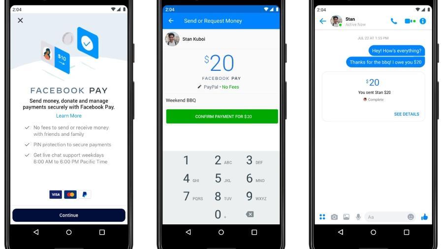 Facebook Pay poderá fazer transferência de dinheiro pelo WhatsApp - Facebook Pay