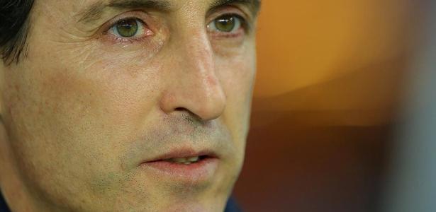 Emery elogiou Di Maria, mas não antecipou escalação do argentino para o ataque