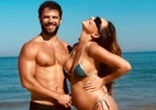 Sabrina Sato vai à praia e exibe barriga da gravidez de cinco meses - Foto: Instagram/@sabrinasato/Reprodução