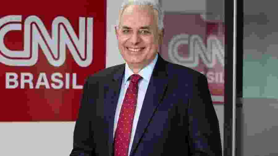 O jornalista William Waack será o principal âncora da CNN Brasil - Divulgação/Spokesman - CNN Brasil