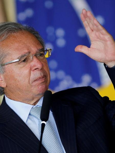 Paulo Guedes, ministro da Economia do governo Jair Bolsonaro - Adriano Machado/Reuters