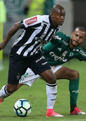 Maicosuel fez seu último jogo pelo Atlético-MG diante do Palmeiras