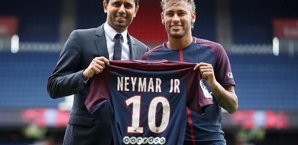 Presidente do PSG também tratou de elogiar o pai de Neymar nesta quarta-feira