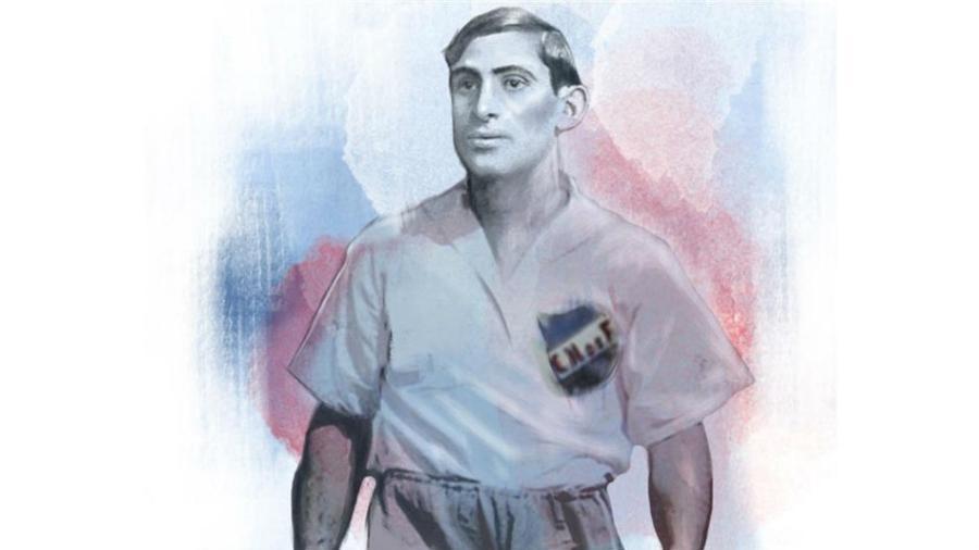 Retrato de Abdón Porte, o jogador que não via vida longe do Nacional (URU) - Reprodução
