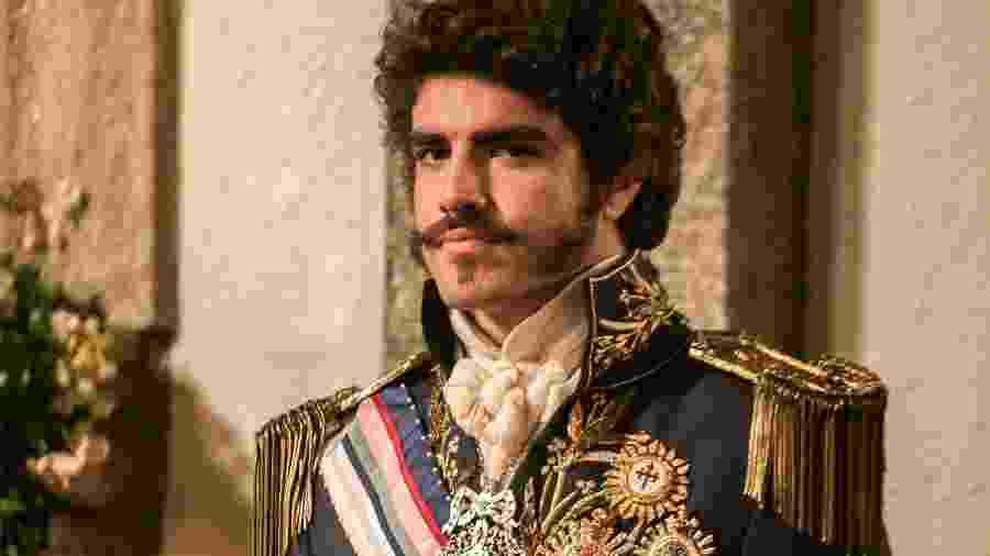 Dom Pedro (Caio Castro) de Novo Mundo (Divulgação/TV Globo)  - Reprodução / Internet