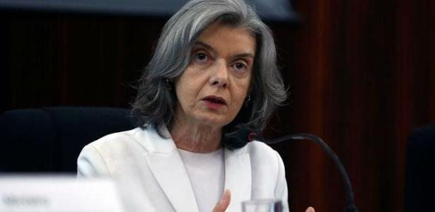 A ministra Cármen Lúcia, presidente do Supremo Tribunal Federal (STF)