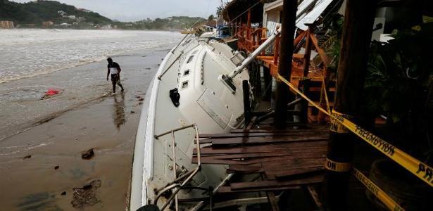 A tempestade Nate deixou 16 mortos na Nicarágua e 11 na Costa Rica