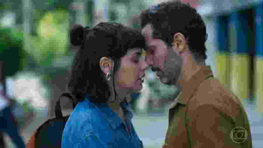 Sara (Verônica Debom) e Ali (Mouhamed Harfouch), de Órfãos da Terra (Reprodução) - Sara (Verônica Debom) e Ali (Mouhamed Harfouch), de Órfãos da Terra (Reprodução)