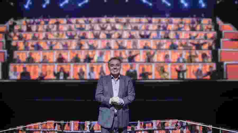 """""""Canta Comigo"""", apresentado por Gugu Liberato, uma coprodução da Record com a Endemol Shine, foi indicado ao Emmy Internacional - Edu Moraes / Record TV"""