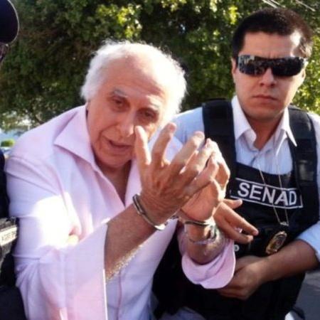 Ex-médico Roger Abdelmassih ao ser preso no Paraguai - Divulgação