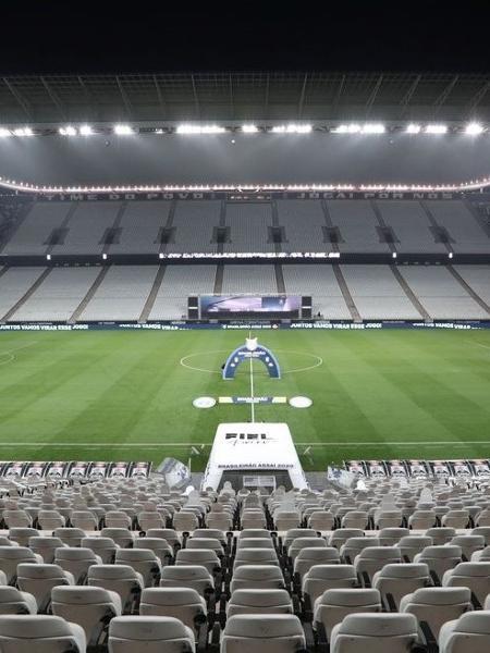 Neo Química Arena, do Corinthians, não será candidato a ter finais da Libertadores - Reprodução / Internet